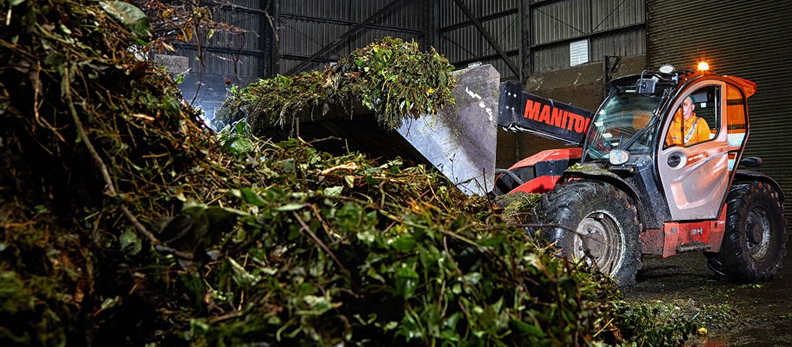 Green and garden waste recycling in Scotland