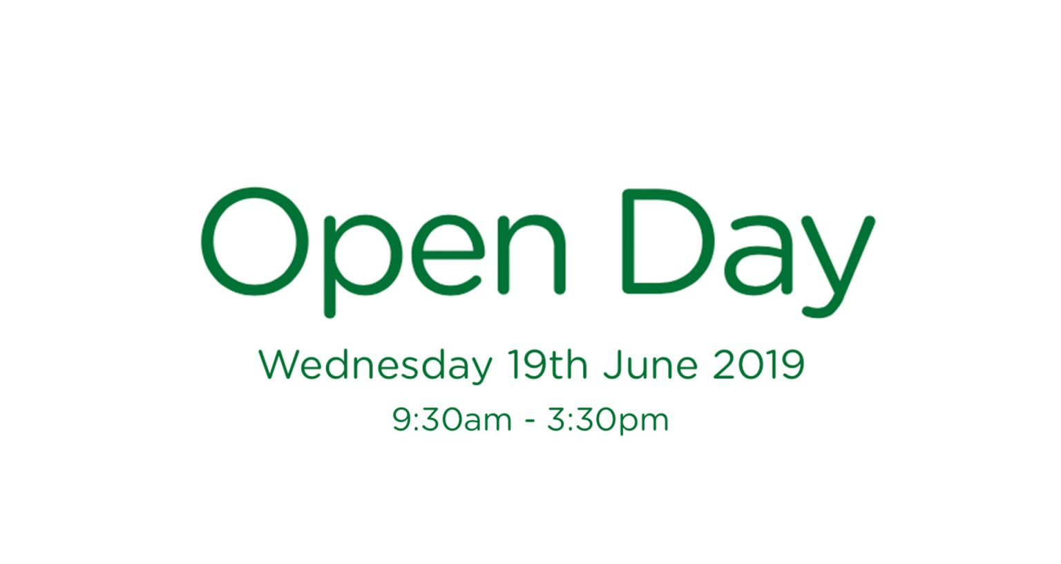 Open Day 19.06.19