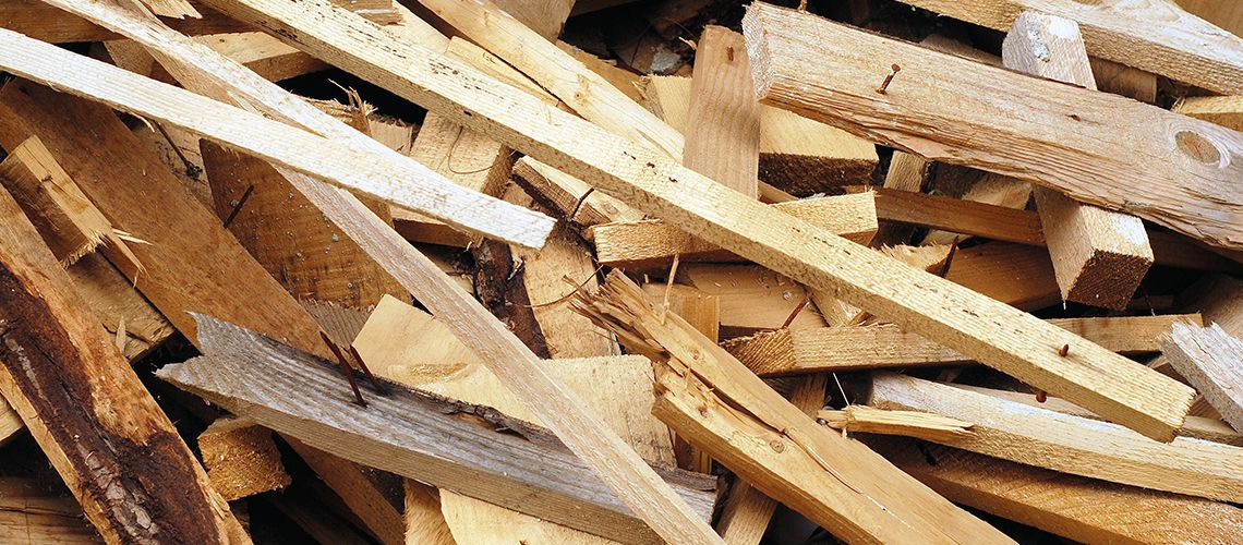 Wood recycling locations